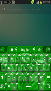Snow Drop Keyboard