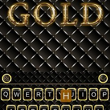 Gold Theme for KikaKeyboard