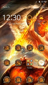 CM Launcher Theme for Lucifer