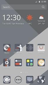 Flat Grey Theme