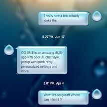 Rainy GO SMS