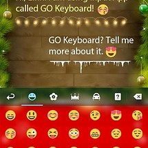 Christmas GO Keyboard Theme