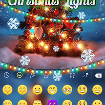 Christmas Lights KeyboardTheme