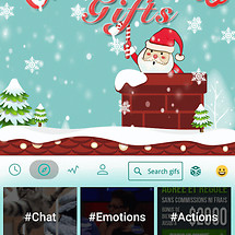 Christmas Gifts Keyboard Theme