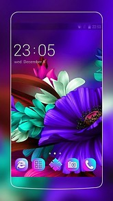 free flower android themes mobiles24
