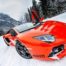 Lamborghini Aventador LP700 Winter