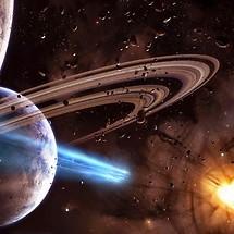 Saturn Ring Close-up