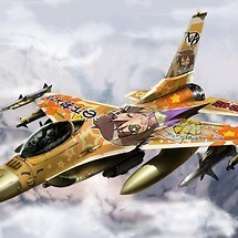 Lucky Star F16 Fighting Falcon
