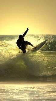 Surfer Surf Yellow