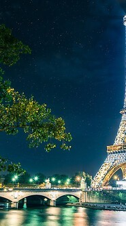 Amazing Eiffel Tower At Night