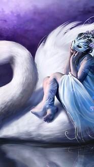 Fantasy Swan