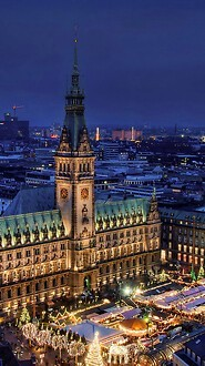 Hamburg Christmas Market - Germany