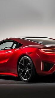 2015 Honda NSX Back