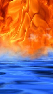 Fire And Water Meet