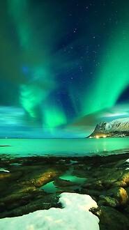 The Lofoten Islands Northern Lights