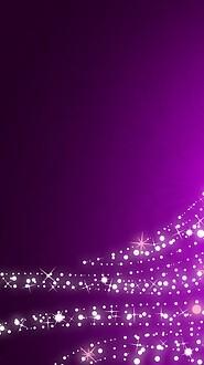 Purple Sparkling Christmas Tree