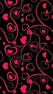 2 Heart Love Pattern