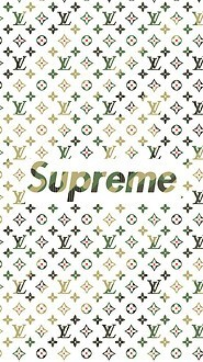 Supreme X Louis Vuitton Free Wallpaper Download Download Free