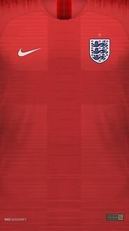 0 England World Cup 2018 Away Jersey