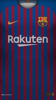 0 FC Barcelona 2018 19 Home Jersey