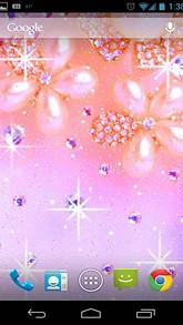 Pearl Flower Live Wallpaper