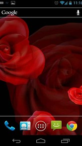 Rose Heart Live Wallpaper