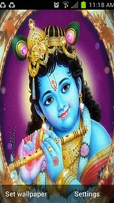 Child Krishna Live Wallpaper