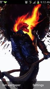 Burn Skull Live Wallpaper