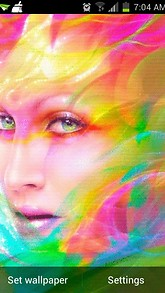 Colorful Face Live Wallpaper