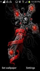 Gothic Cross Live Wallpaper