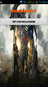 Transformers Live Wallpapers