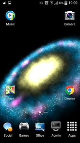 Ring Galaxy Live Wallpaper
