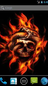 Snake and Skull Live Wallpaper