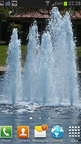 Fountains Live Wallpaper
