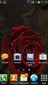 Beauty Of Rose Live Wallpaper