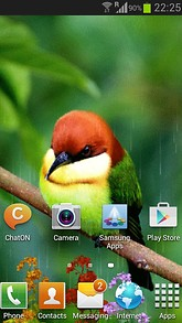 Bird In Rain Live Wallpaper