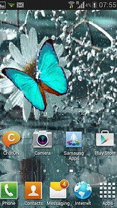 Rainy Butterfly Live Wallpaper