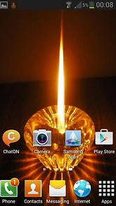 Crystal Candle Live Wallpaper