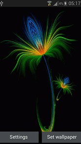 Flower Ripple Live Wallpaper