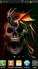 Horror Dradon Skull LWP