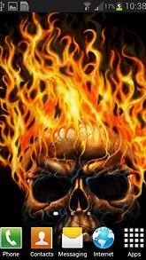 Burning Skull LWP