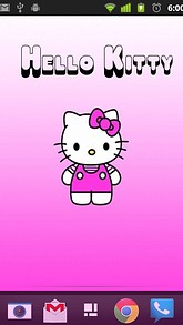 Pink Hello Kitty Live Wallpaper