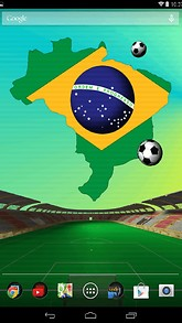 Brazil Football Live Wallpaper