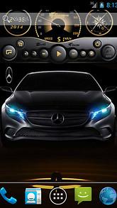 Mercedes Live Wallpaper