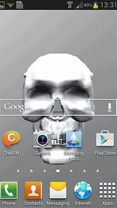 Hide Skull Live Wallpaper