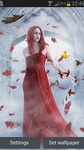 Red Gothic Beauty LWP