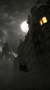 Dark City Scene Live Wallpaper