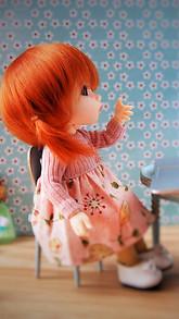 sweet doll live wallpaper