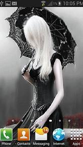 Black Dress Girl LWP