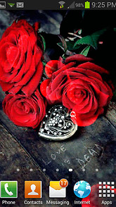Roses With Locket LWP
